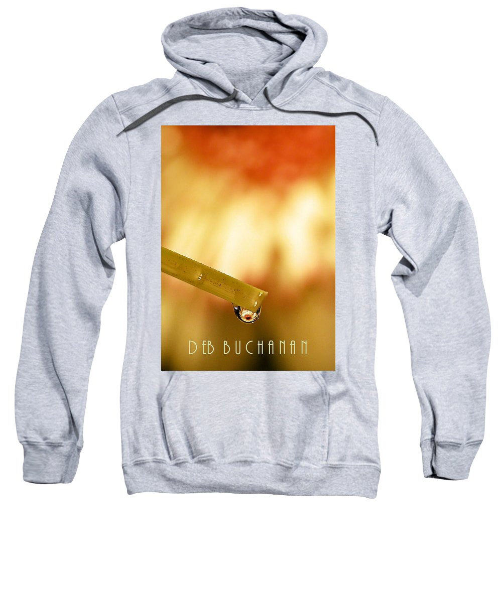 Reflection Sweatshirt featuring the photograph Summer Soltice by Deb Buchanan