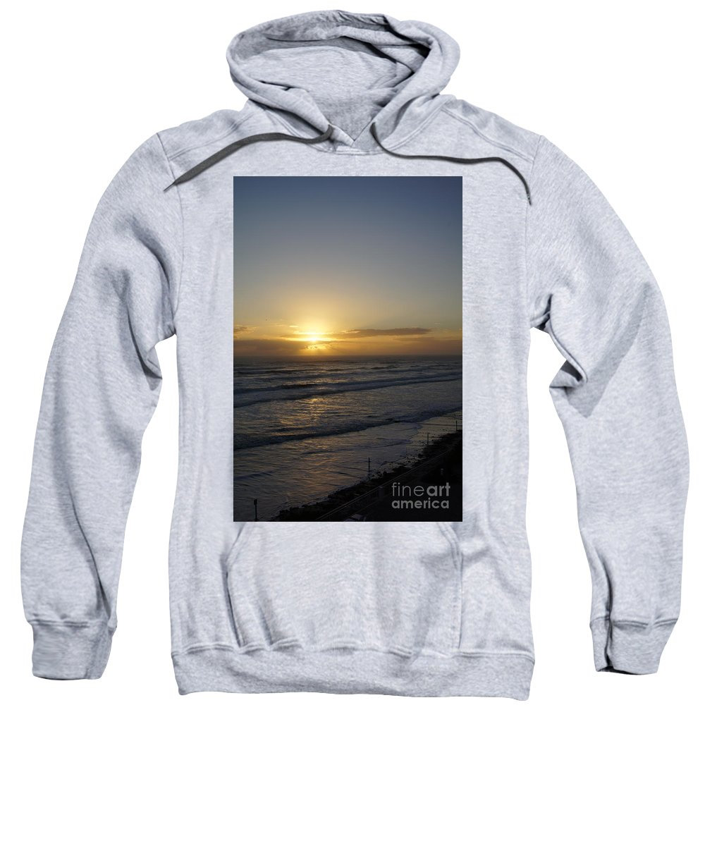 Sunrise Sweatshirt featuring the photograph Sunrise by Megan Cohen