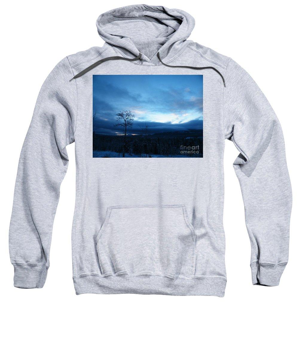 Sentinel Sweatshirt featuring the photograph Sunrise Sentinel by Brian Boyle