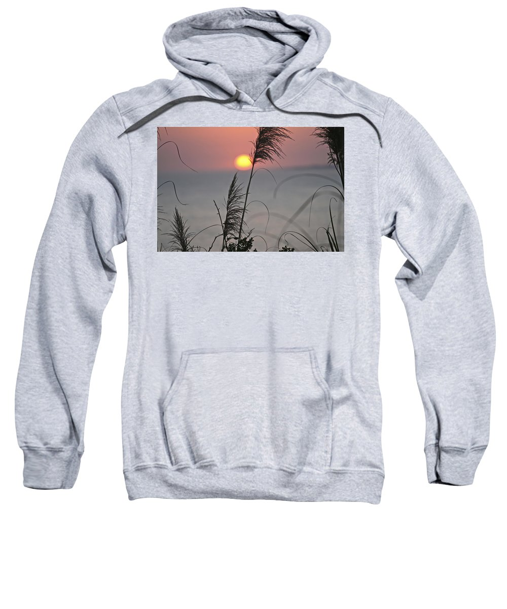 Sunsetting Sweatshirt featuring the photograph Sunset At 188 Mm Focal Length by SC Heffner