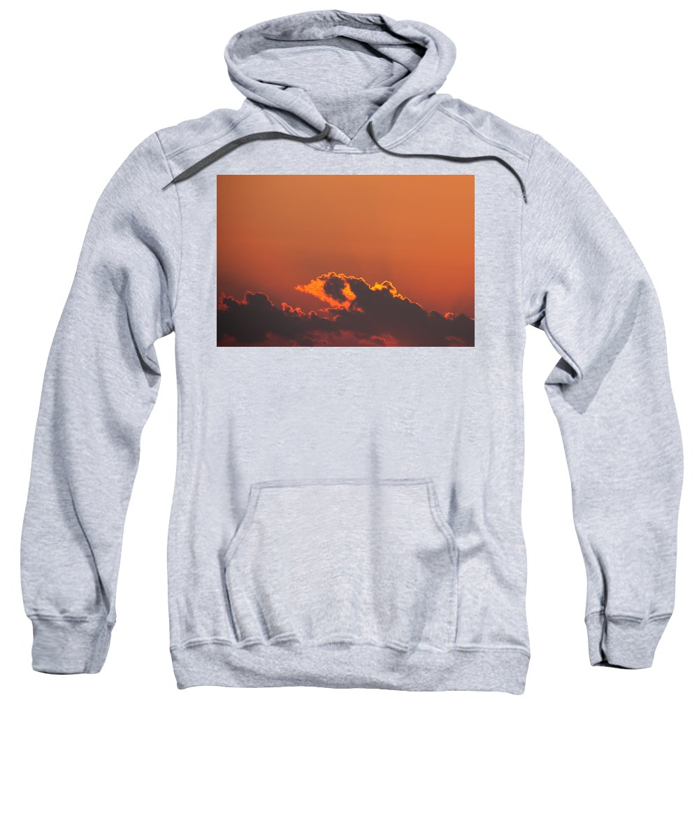 Chicago Sweatshirt featuring the photograph Sunset Clouds by Anthony Doudt