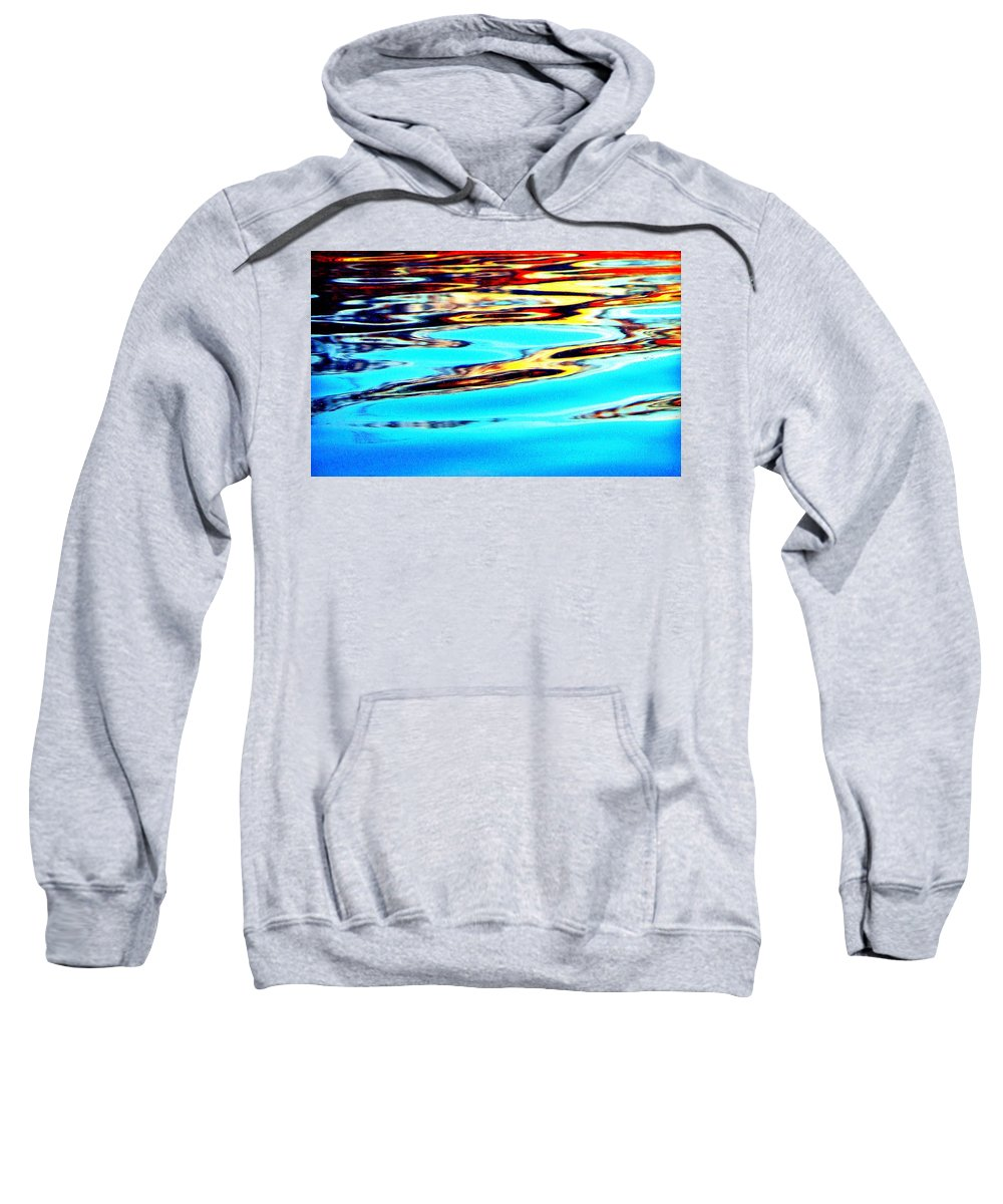 Water Sweatshirt featuring the photograph Sunset On Water by Faith Williams