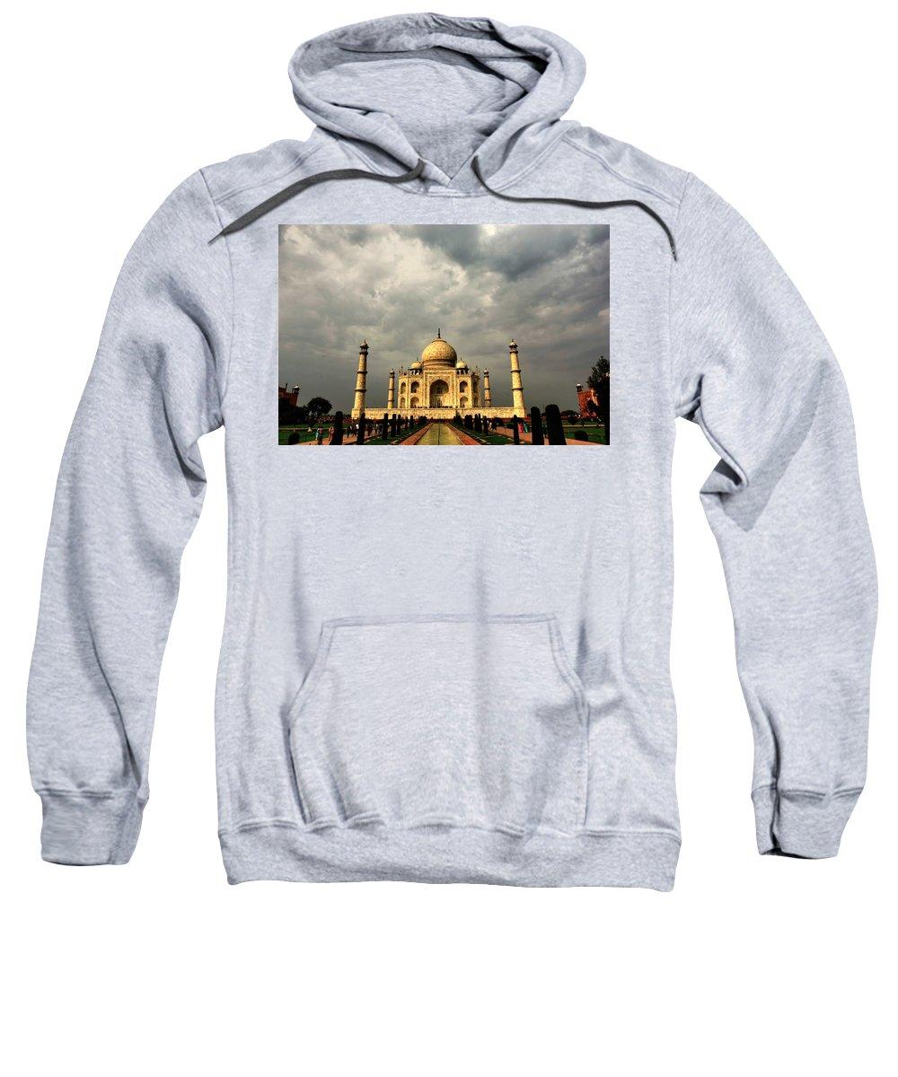 Taj Mahal Sweatshirt featuring the photograph Taj Mahal by Amanda Stadther