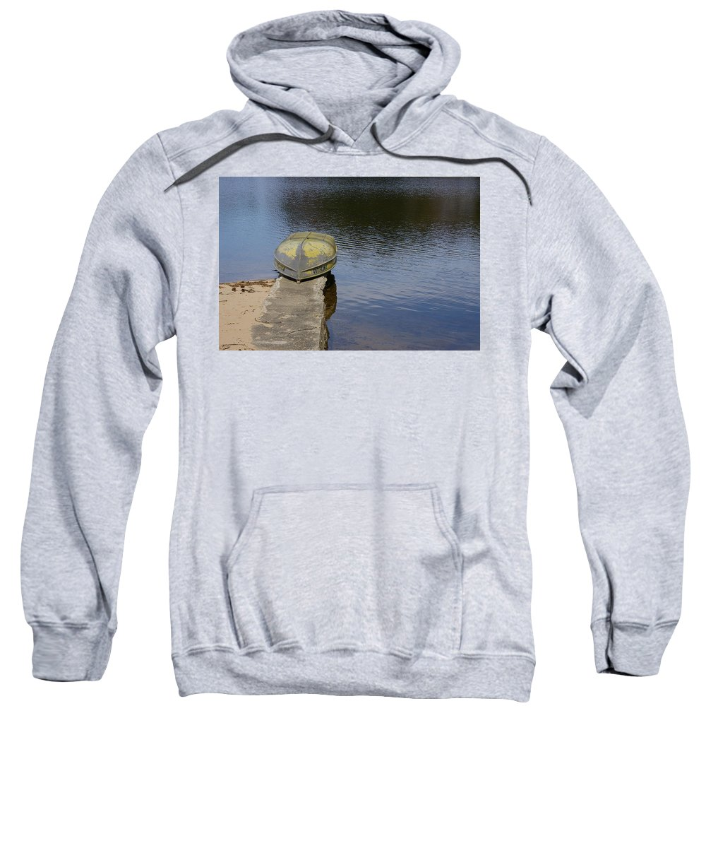 Fishing Sweatshirt featuring the photograph Taking A Break by Randy Pollard