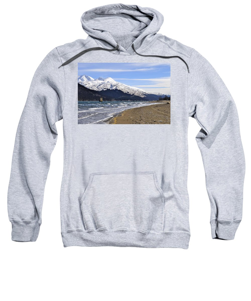 Wind Sweatshirt featuring the photograph Taku Winds by Cathy Mahnke