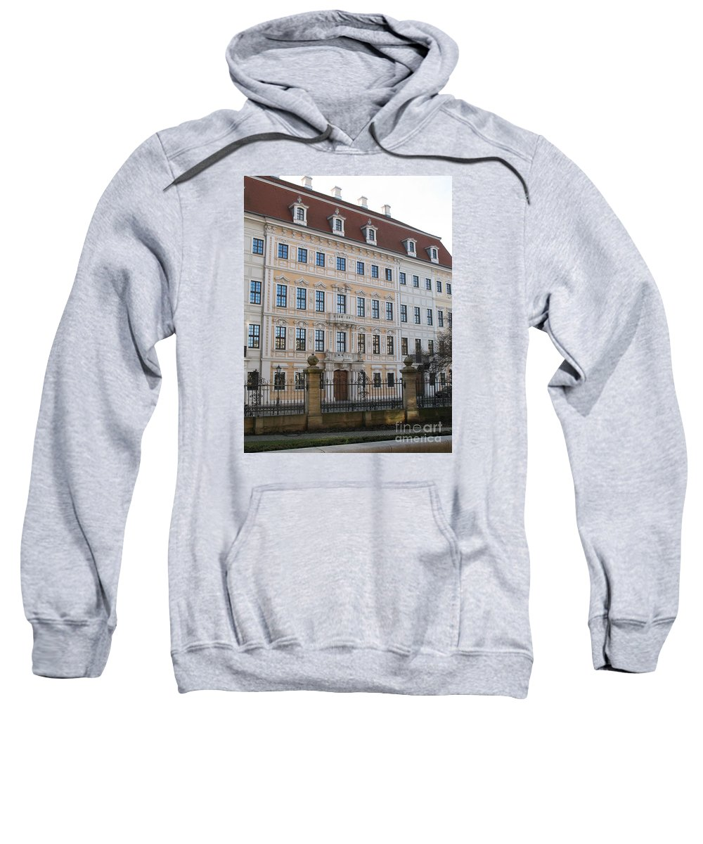 Palace Sweatshirt featuring the photograph Taschenberg Palais Dresden by Christiane Schulze Art And Photography