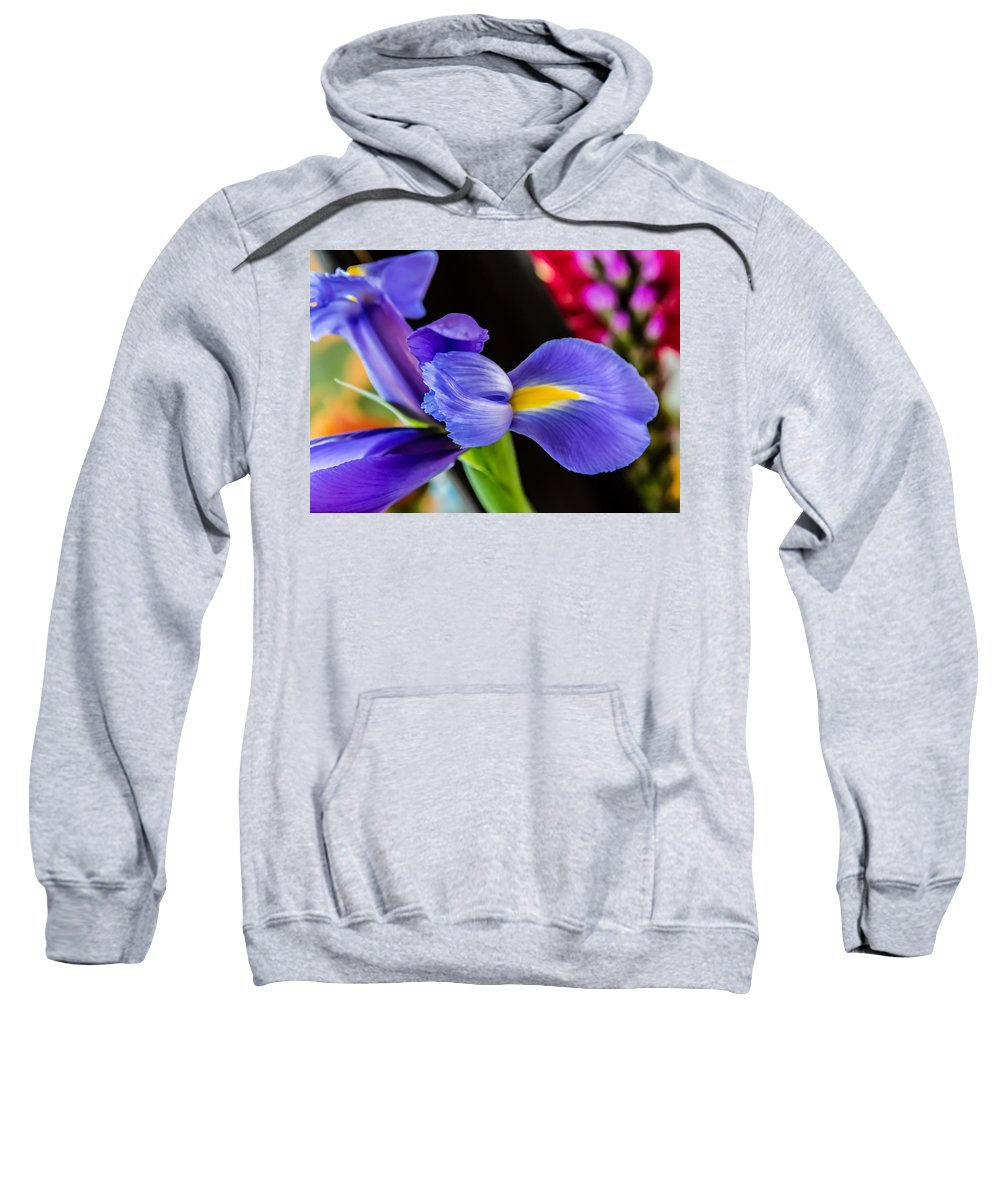 Flora Sweatshirt featuring the photograph Teenager...a Parable by Steve Harrington