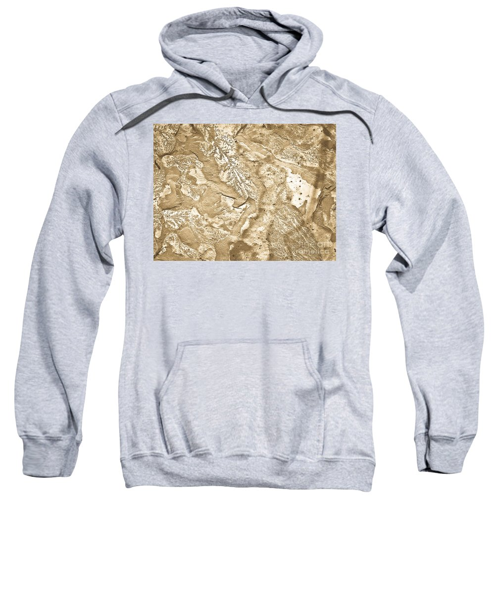 Texture Sweatshirt featuring the photograph Texture No.6 Effect 2 by Fei A