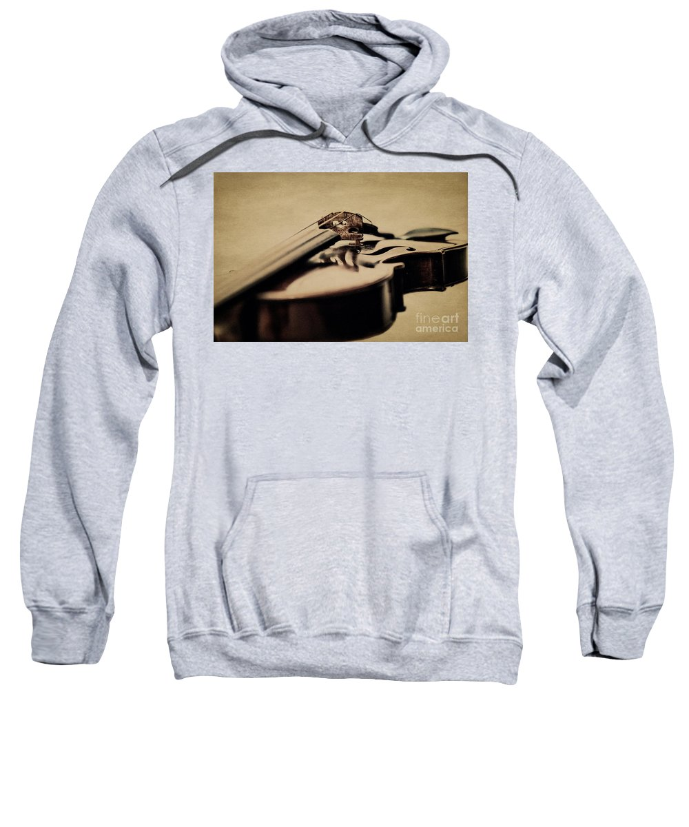 Violin Sweatshirt featuring the photograph The Bridge by Emily Kay