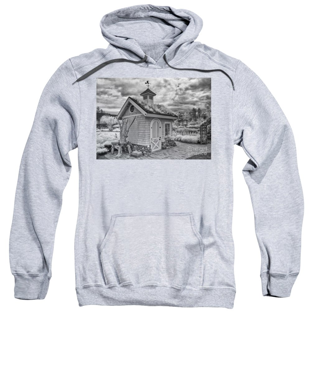 Infared Sweatshirt featuring the photograph The Chair by Claudia Kuhn