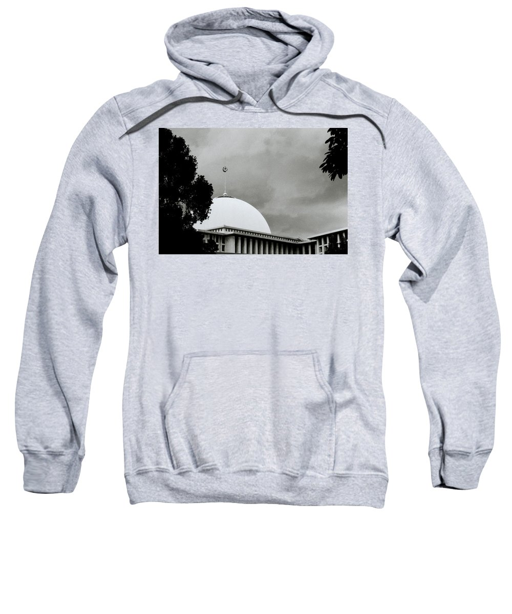 Spirituality Sweatshirt featuring the photograph The Crescent And Star by Shaun Higson