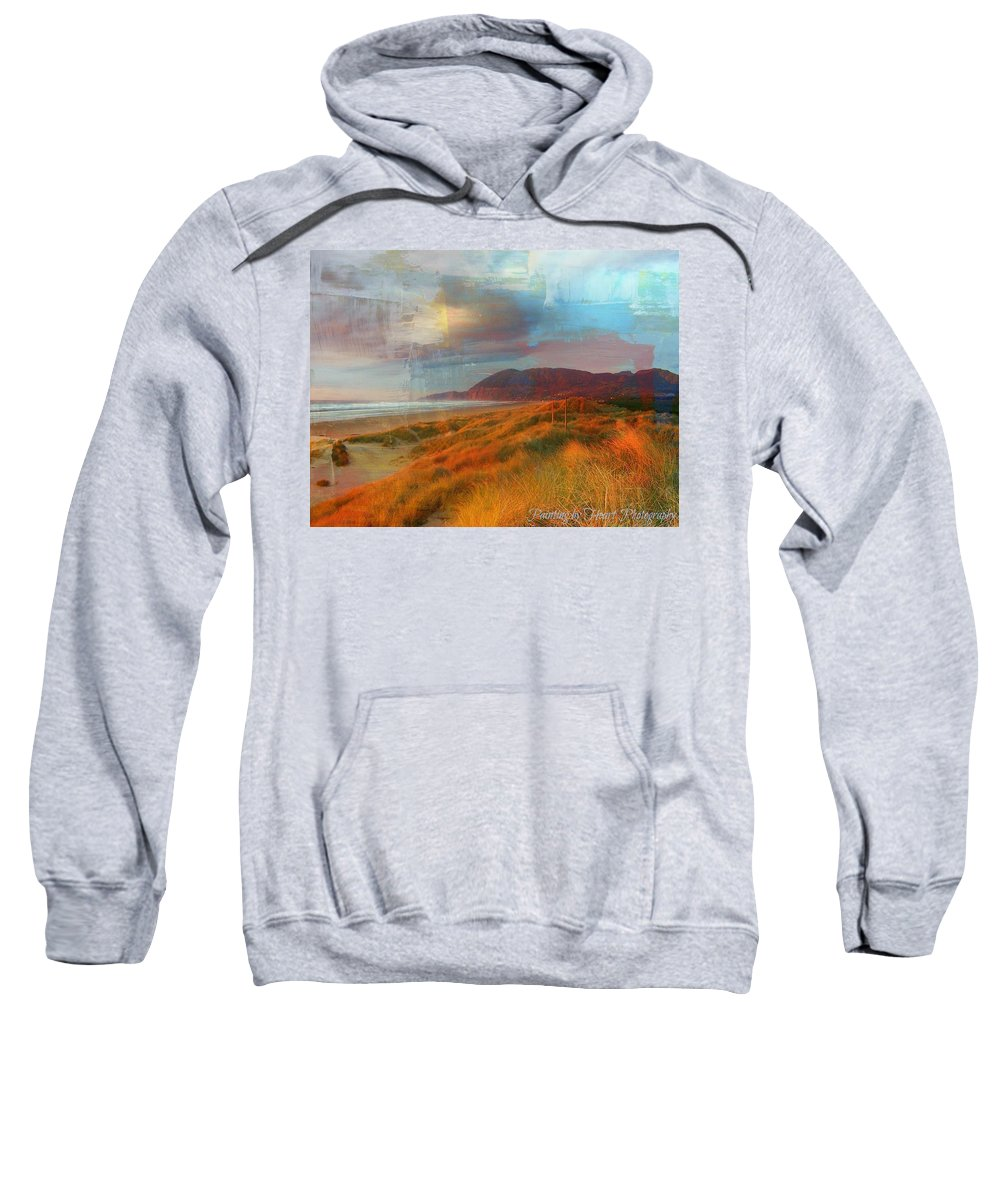 Nature Sweatshirt featuring the photograph The Elk Trail by Deahn   Benware