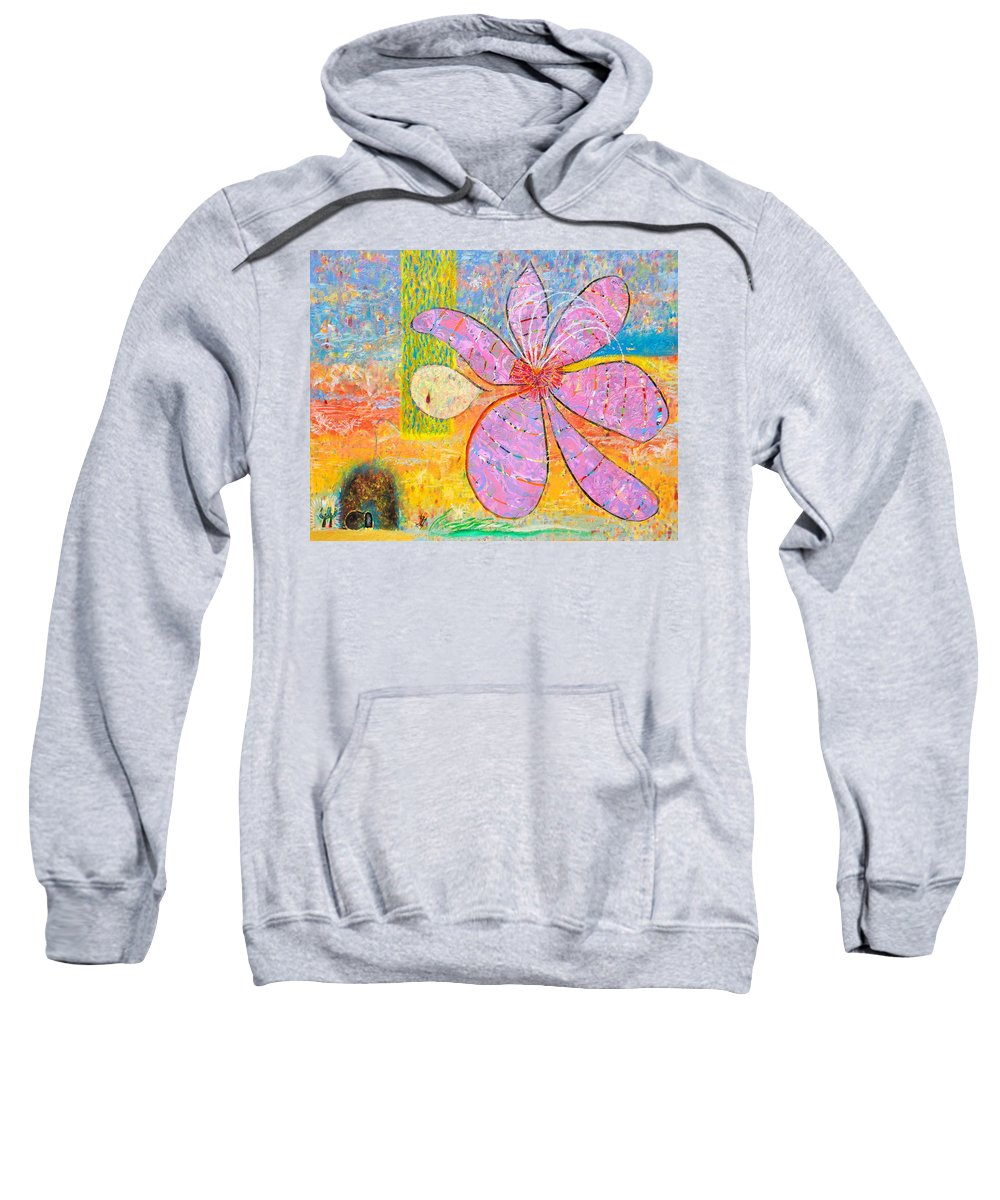 Christian Sweatshirt featuring the painting The Empty Tomb by Anne Cameron Cutri