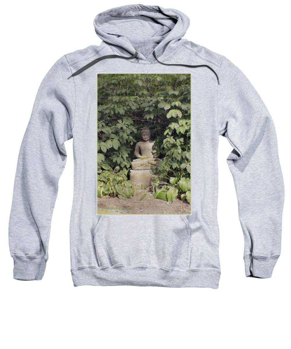 Enlightened Buddha Sweatshirt featuring the photograph The Enlightened One by Sonali Gangane