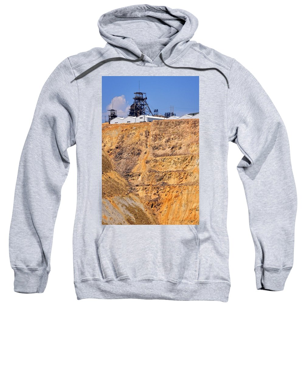 Butte Sweatshirt featuring the photograph The Frane by Image Takers Photography LLC - Laura Morgan