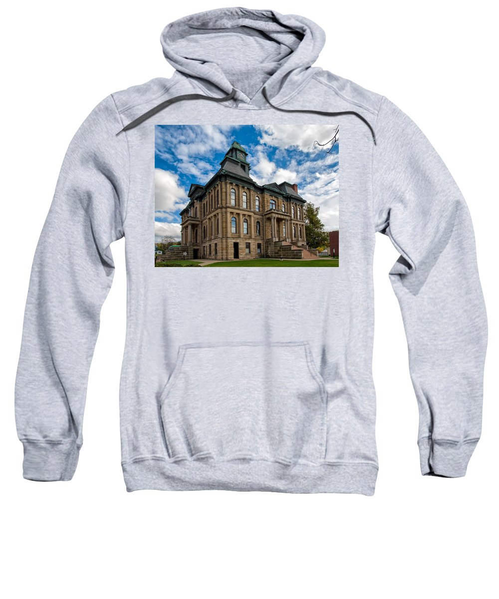 Architecture Sweatshirt featuring the photograph The Holmes County Courthouse by John M Bailey