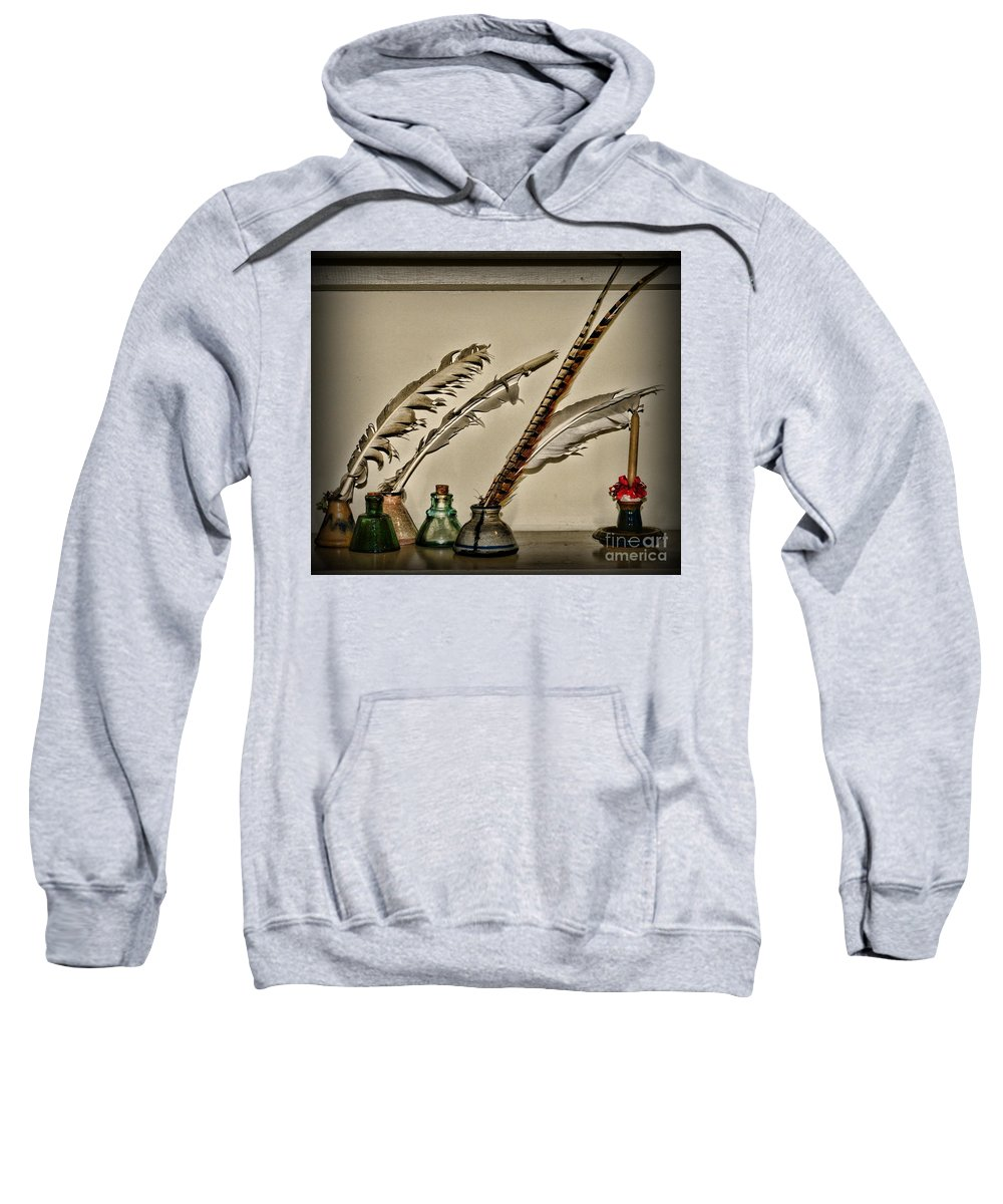 Paul Ward Sweatshirt featuring the photograph The Inkwell by Paul Ward