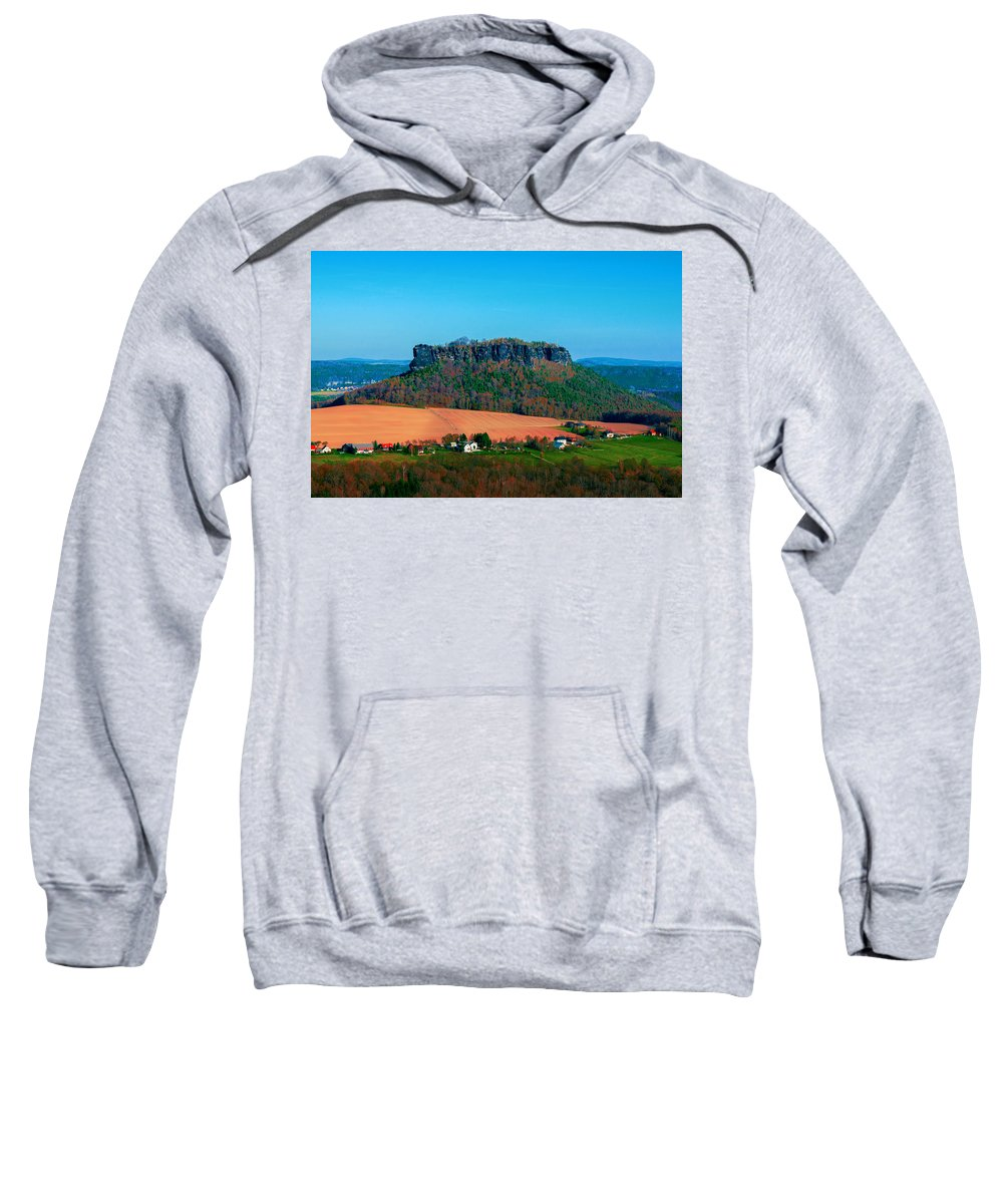 Germany Sweatshirt featuring the photograph The Lilienstein by Sun Travels
