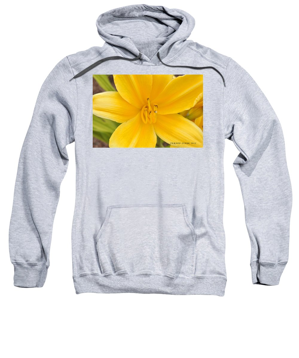 Lily Sweatshirt featuring the photograph The Lily From Kentucky by Verana Stark