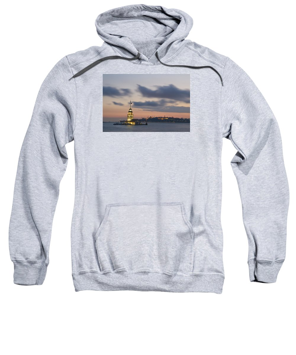 Turkey Sweatshirt featuring the photograph The Maiden's Tower by Ayhan Altun