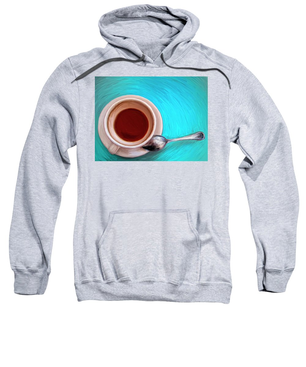 Morning After Sweatshirt featuring the painting The Morning After by Dominic Piperata