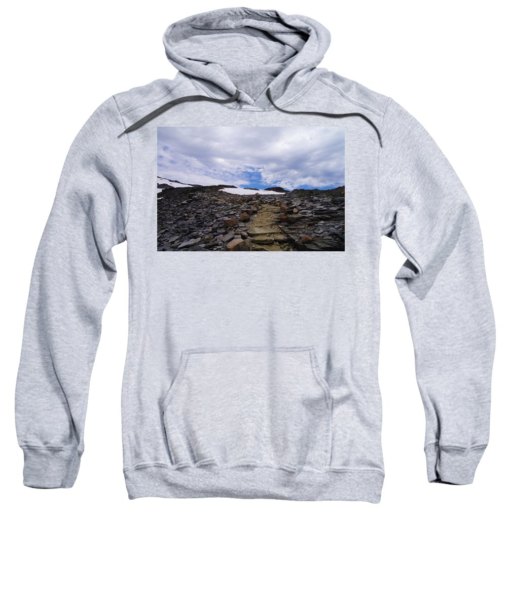 Trails Sweatshirt featuring the photograph The Muir Trail by Jeff Swan