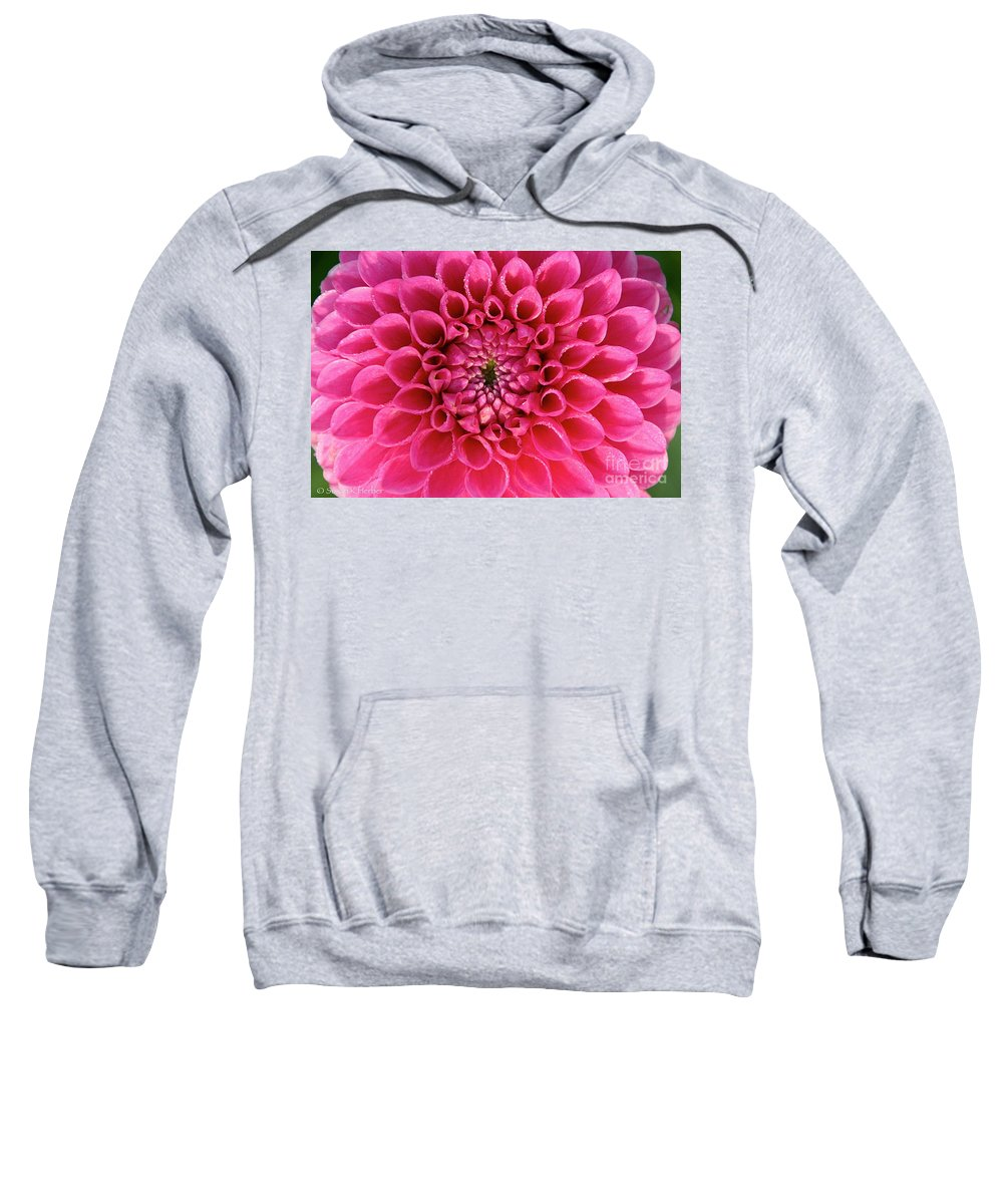 Flower Sweatshirt featuring the photograph The Perfect One by Susan Herber