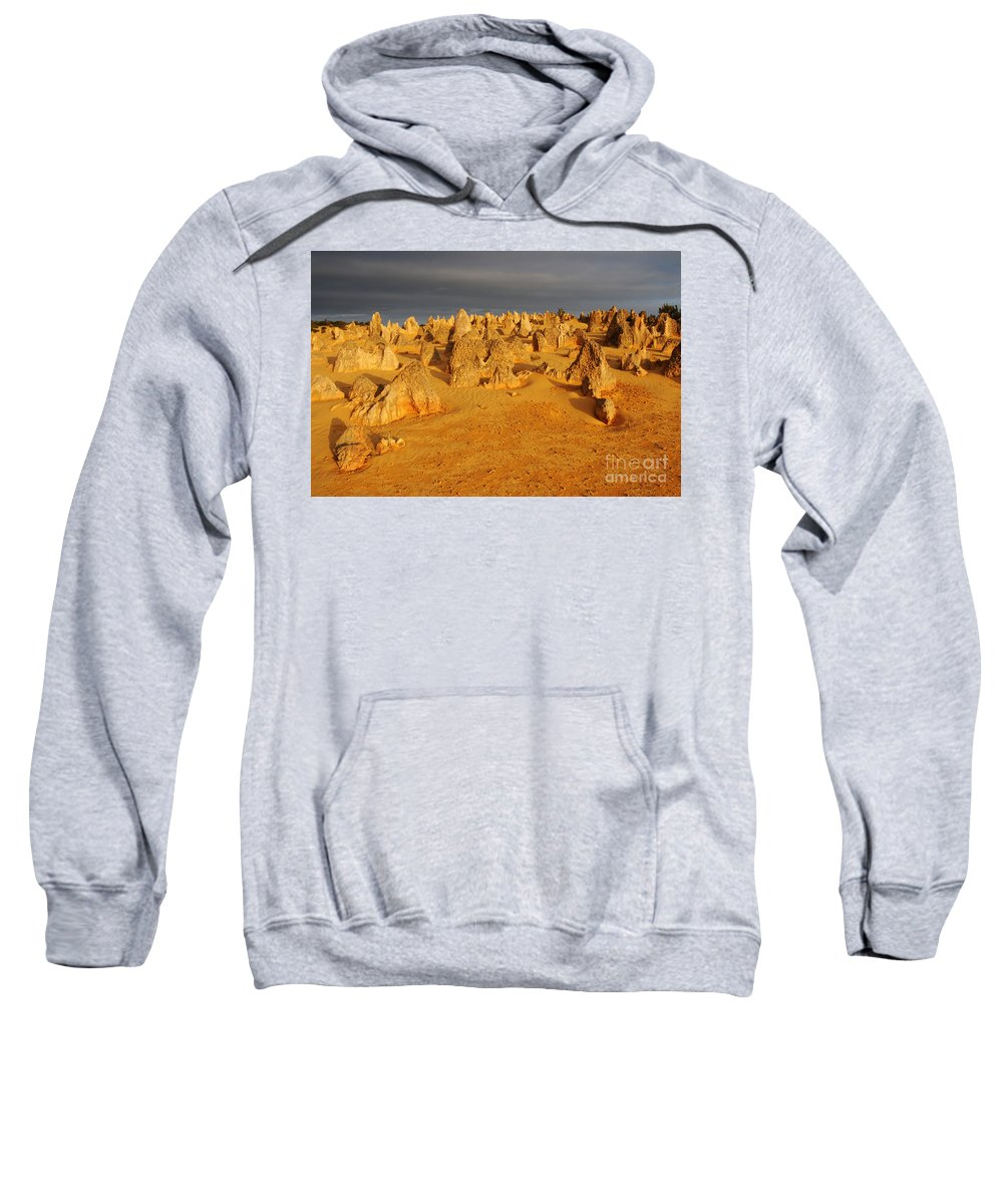 Pinnacles Sweatshirt featuring the photograph The Pinnacles 4 by Vivian Christopher