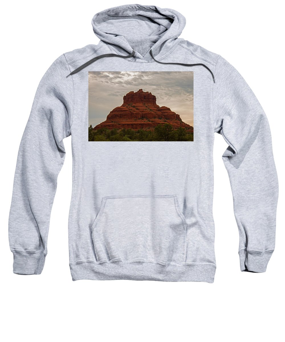 Sedona Sweatshirt featuring the photograph The Red Rocks Of Sedona by Kathleen Odenthal