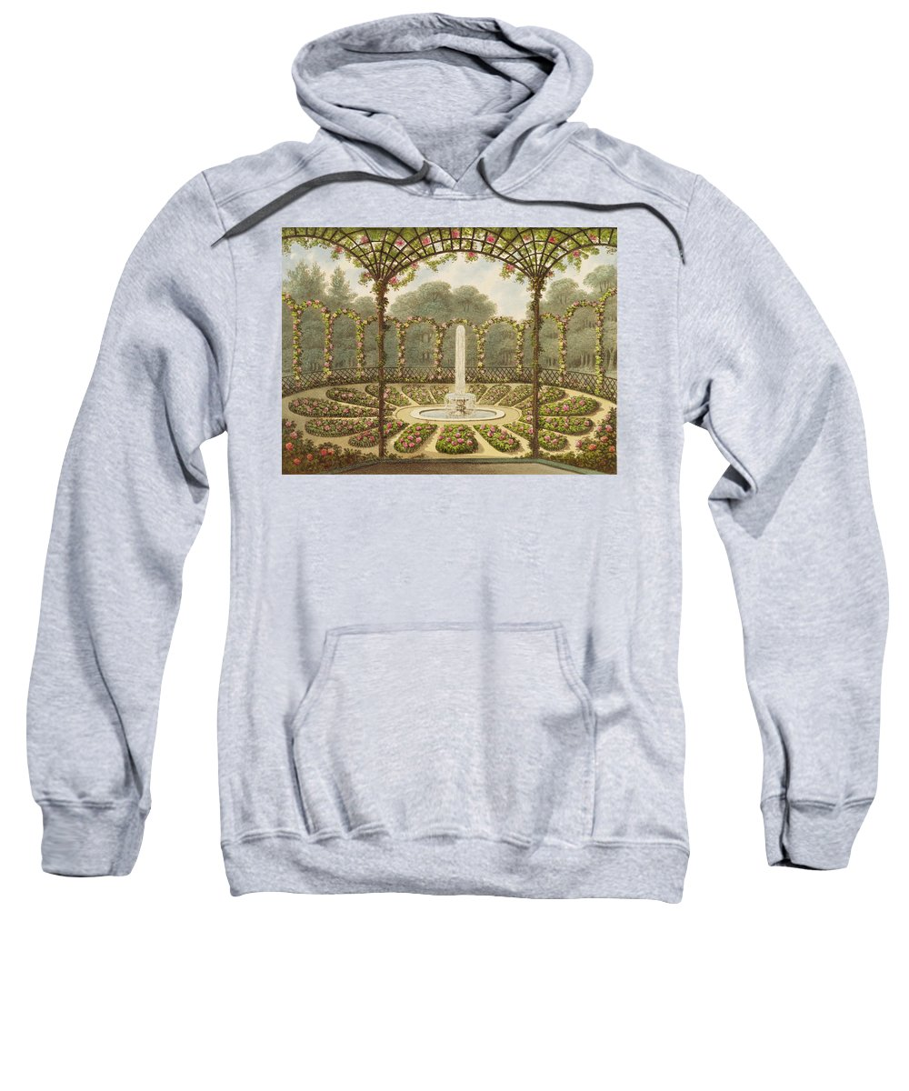 The Sweatshirt featuring the painting The Rosary At Ashridge by English School
