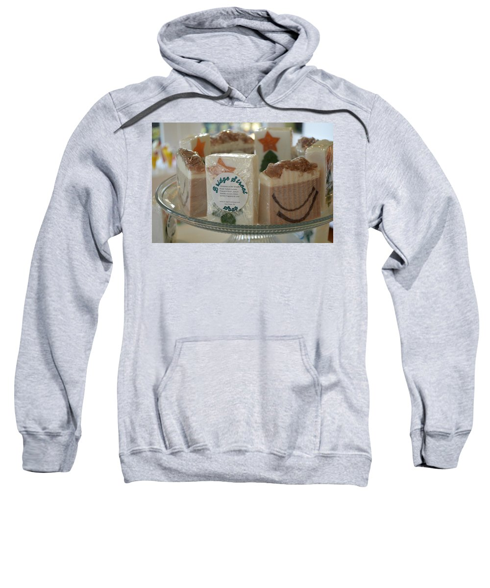 Bridge Street Soap Sweatshirt featuring the photograph The Soap Bar by JG Thompson