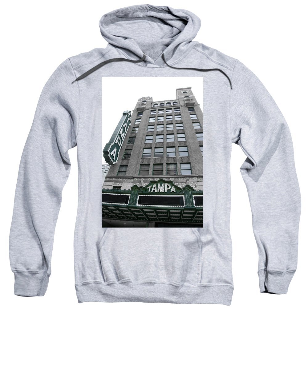Vintage Sweatshirt featuring the photograph The Tampa Theatre by Beverly Stapleton
