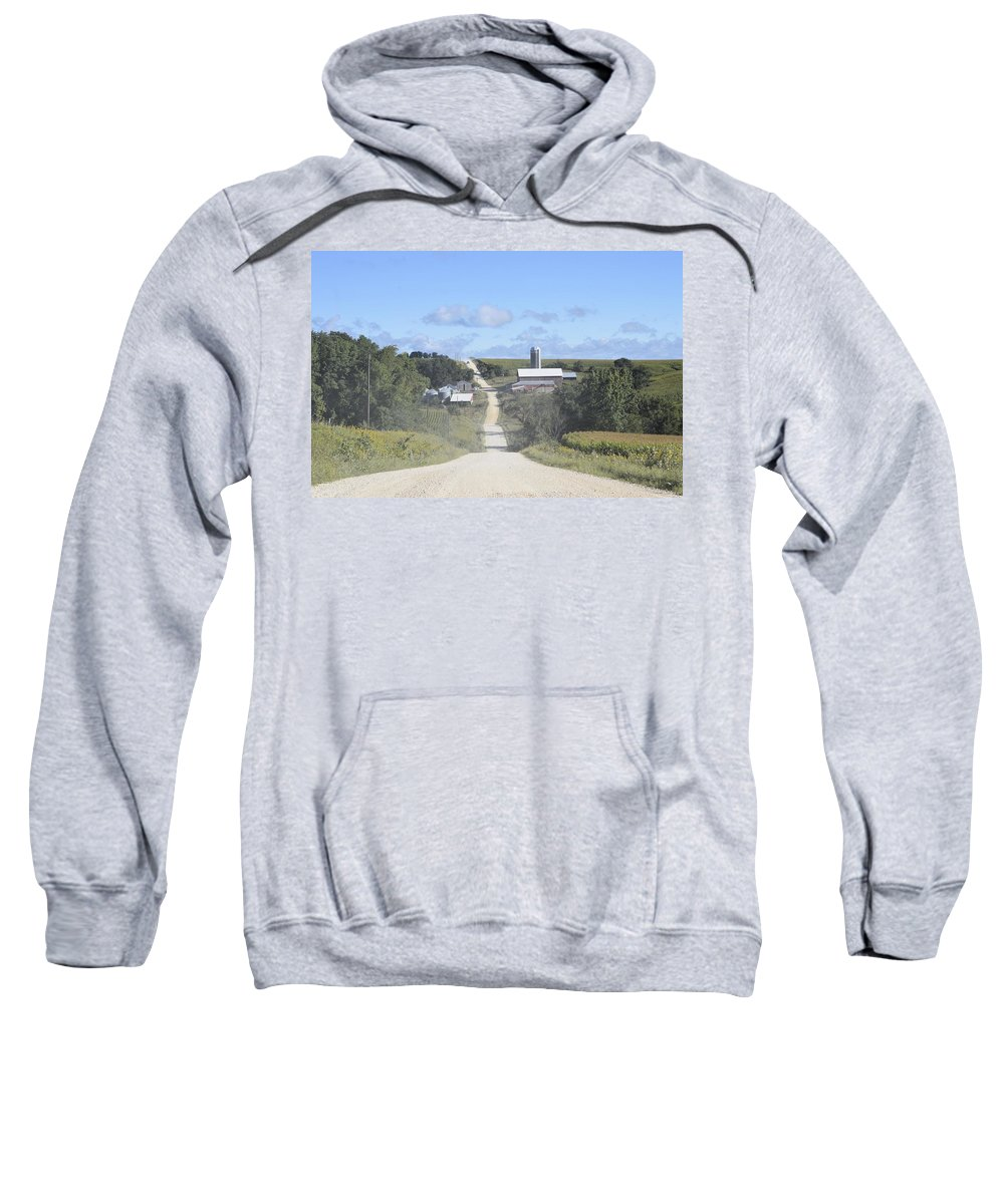 Dirt Road Sweatshirt featuring the photograph The Third Season by Bonfire Photography
