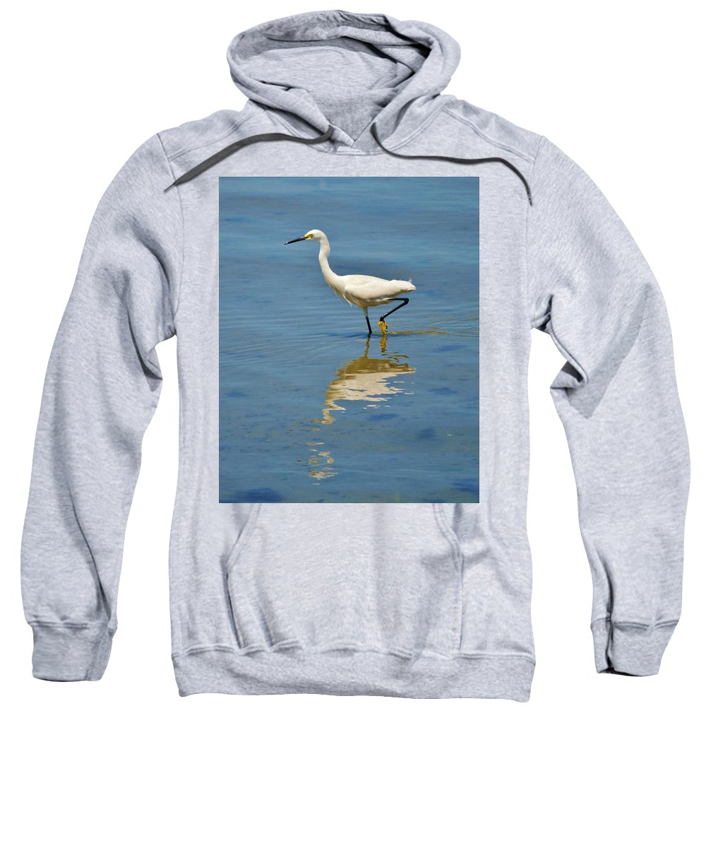Beach Bum Pics Sweatshirt featuring the photograph The Walk by William Bartholomew