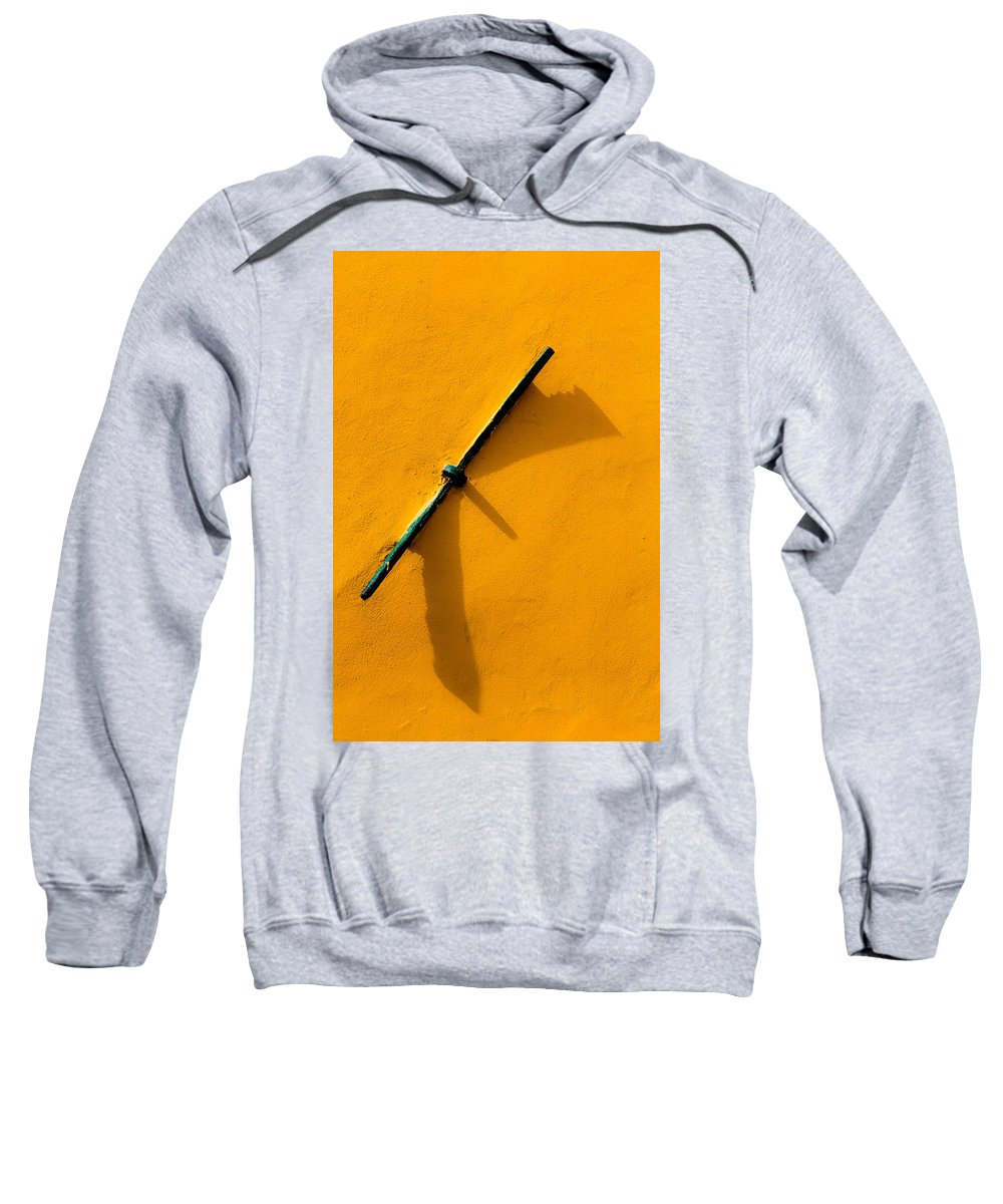 Tensor Sweatshirt featuring the photograph Tightener by Edgar Laureano