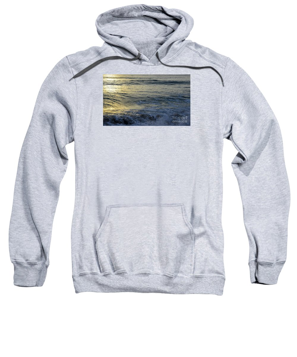 Landscapes Sweatshirt featuring the photograph To The Seas by Amanda Sinco