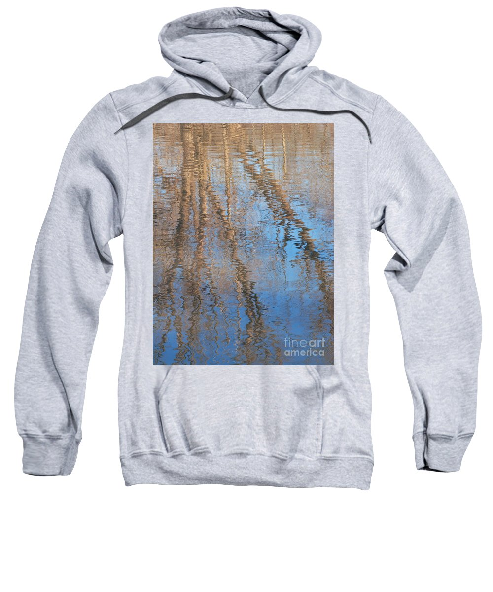 Tree Sweatshirt featuring the photograph Topside Down by Ann Horn
