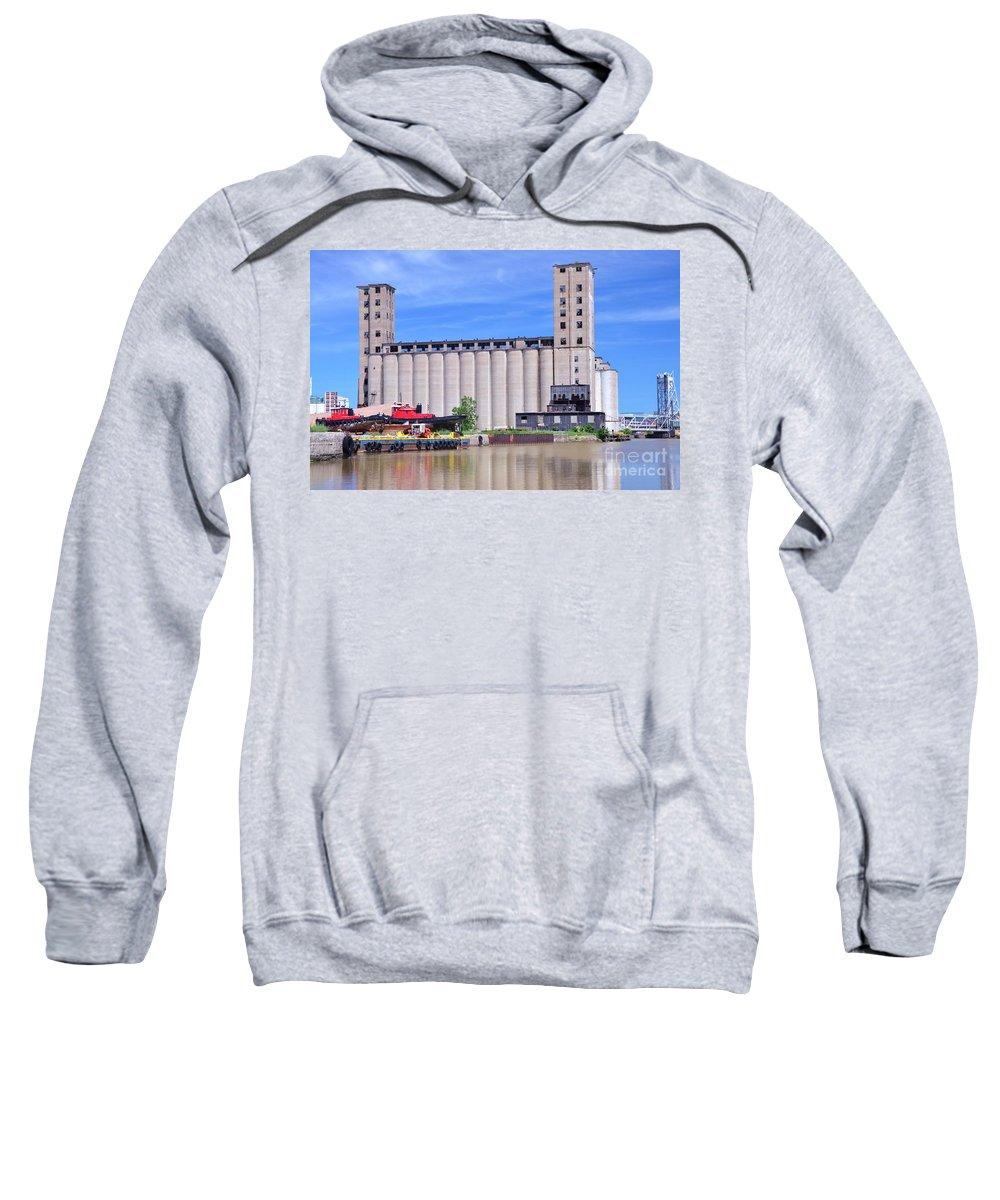 Grain Sweatshirt featuring the photograph Tour Down Buffalo River by Kathleen Struckle
