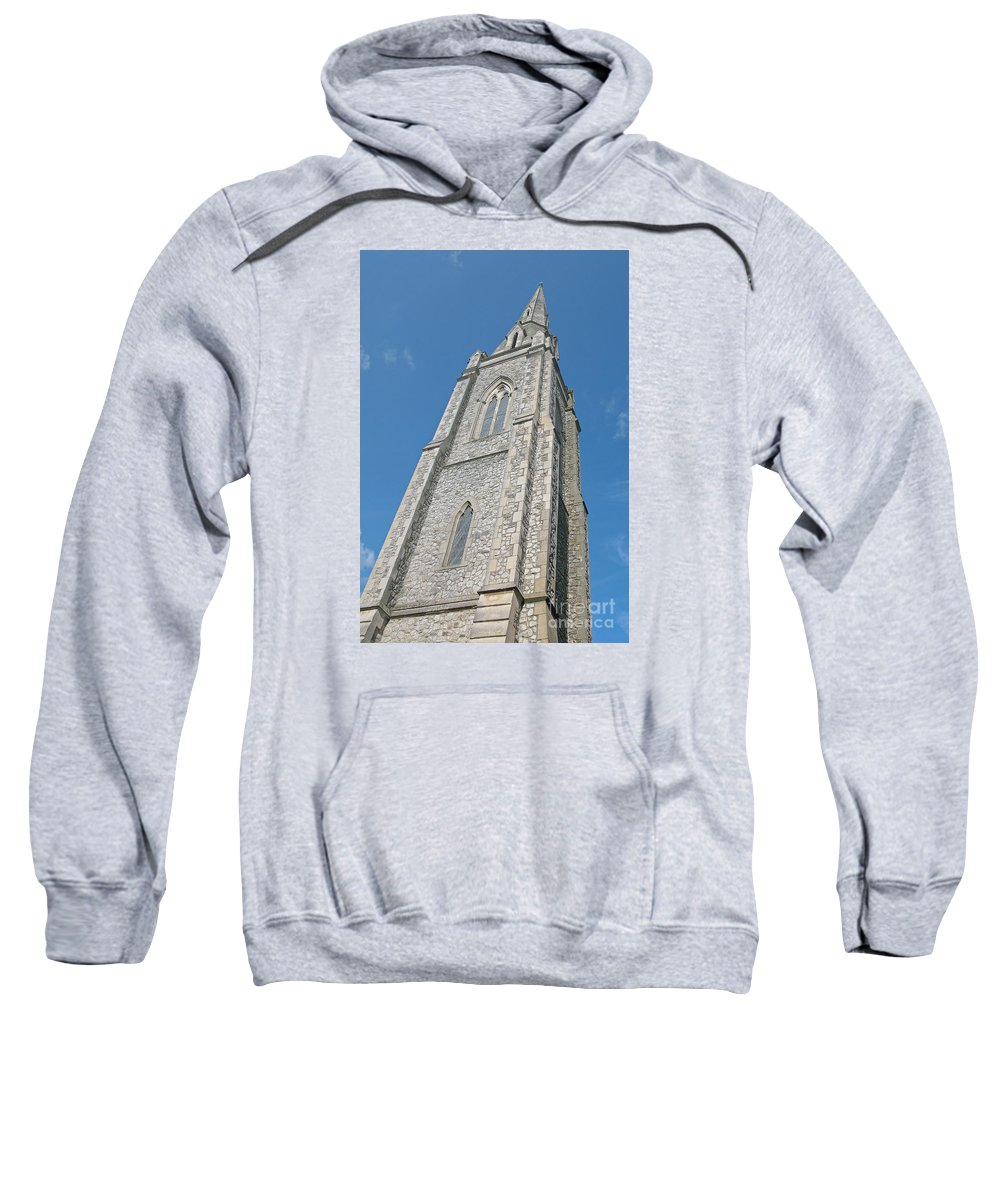 England Sweatshirt featuring the photograph Towering by Ann Horn