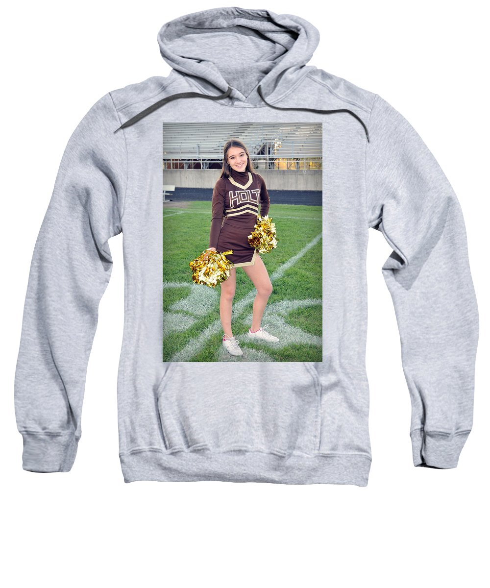 Sweatshirt featuring the photograph Tr Cheer by Gene Tatroe