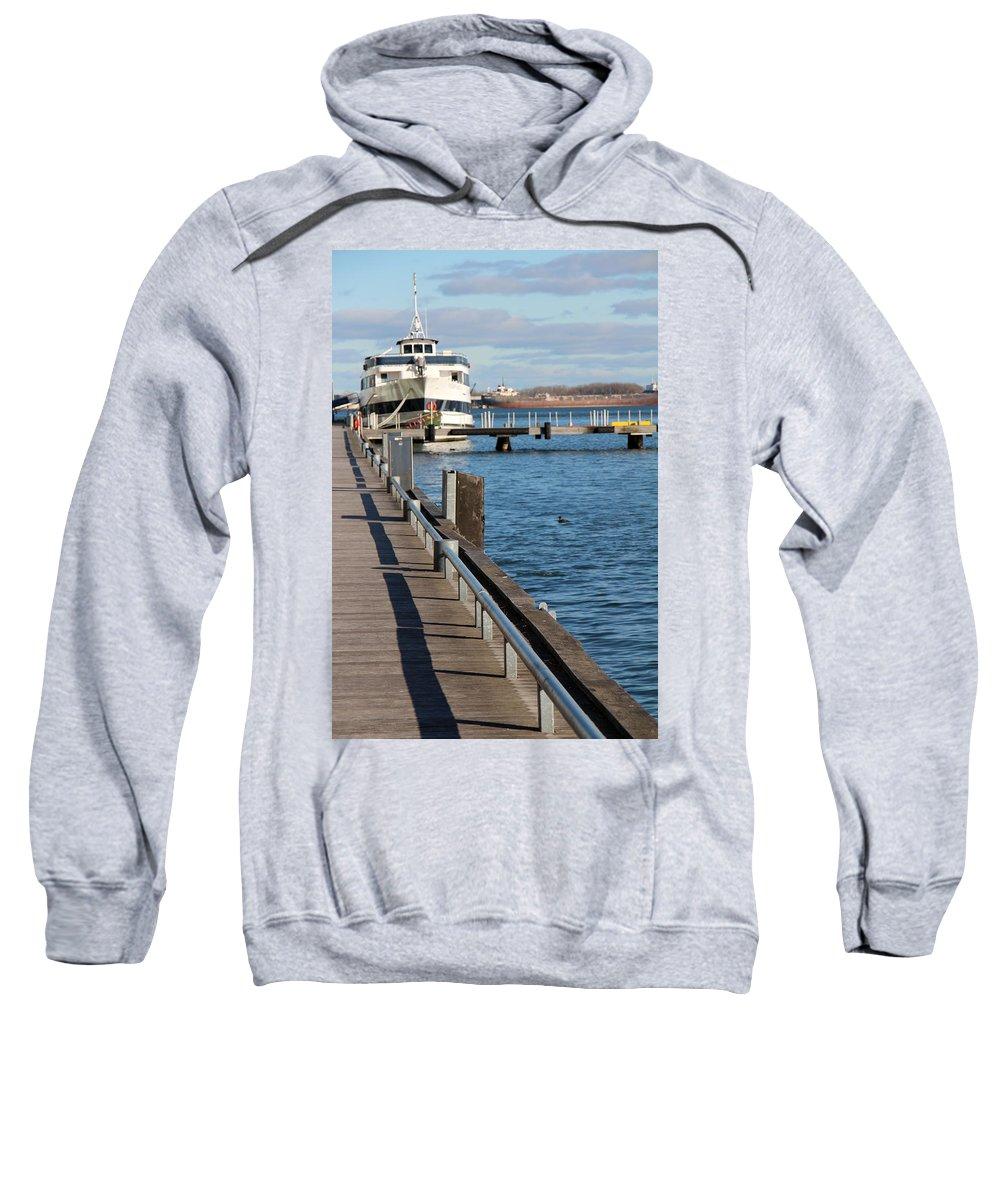 Toronto Sweatshirt featuring the photograph Travel Into Past by Munir Alawi