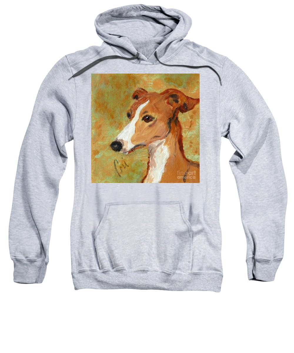 Acrylic Sweatshirt featuring the painting Treasured Moments by Cori Solomon
