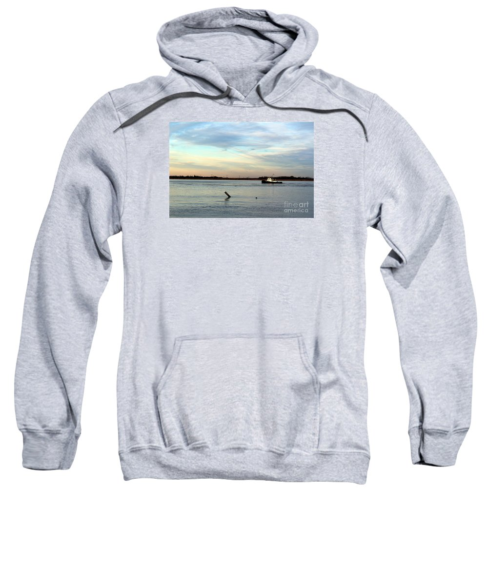 Tug Boat Sweatshirt featuring the photograph Tug Boat by David Jackson