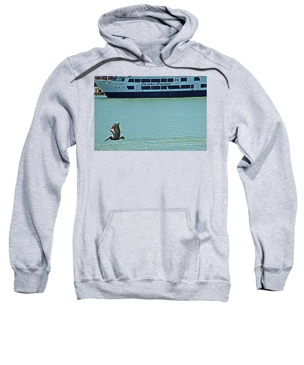 Florida Sweatshirt featuring the photograph U Buy I Fly by Aimee L Maher ALM GALLERY
