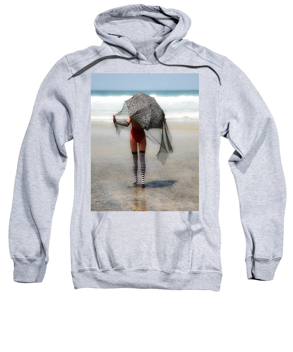 Umbella Sweatshirt featuring the photograph Umbrella by Hugh Smith