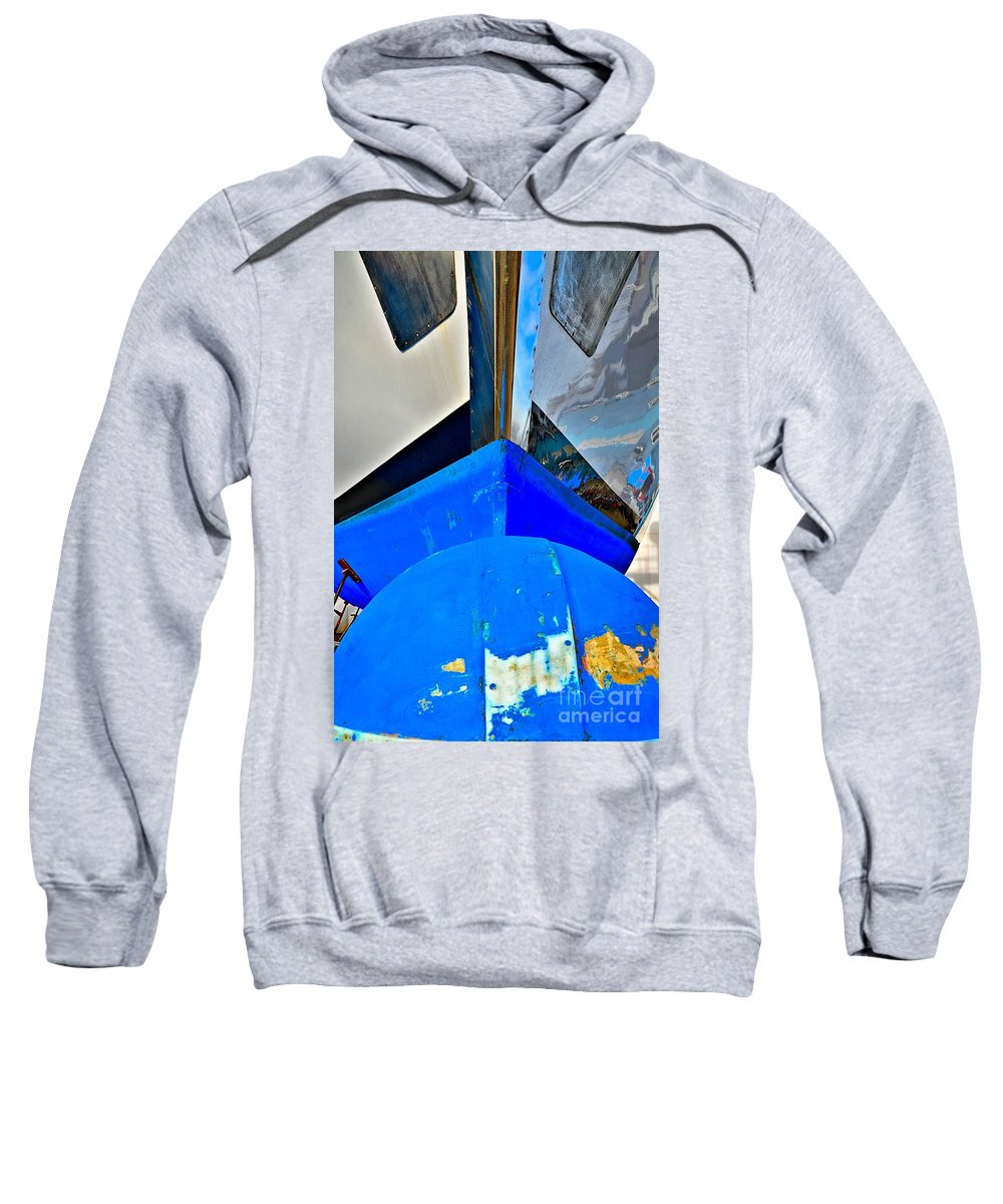 Abstract Sweatshirt featuring the photograph Up And Over by Lauren Leigh Hunter Fine Art Photography