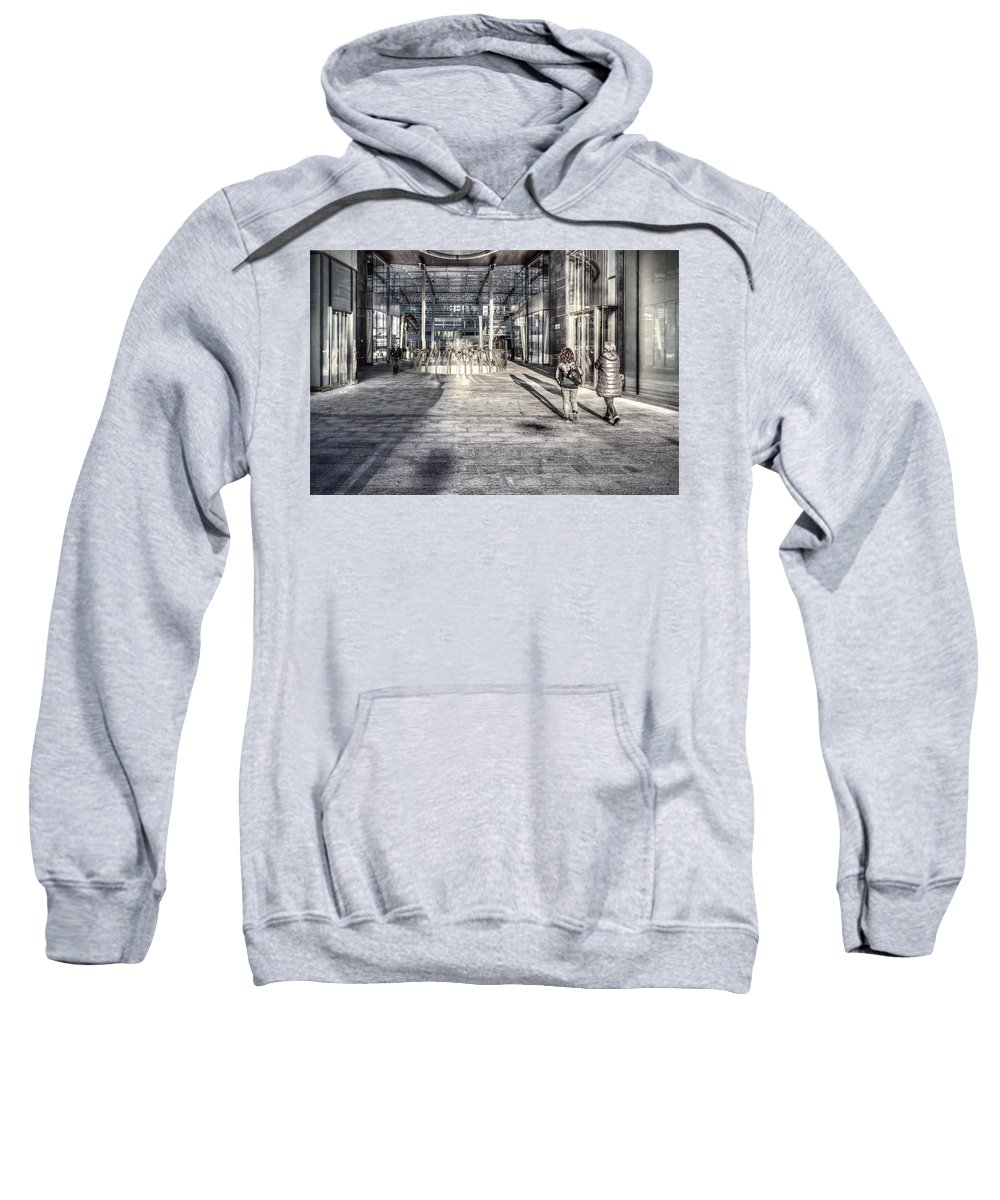 Desaturated Sweatshirt featuring the photograph Urban #1 by Roberto Pagani