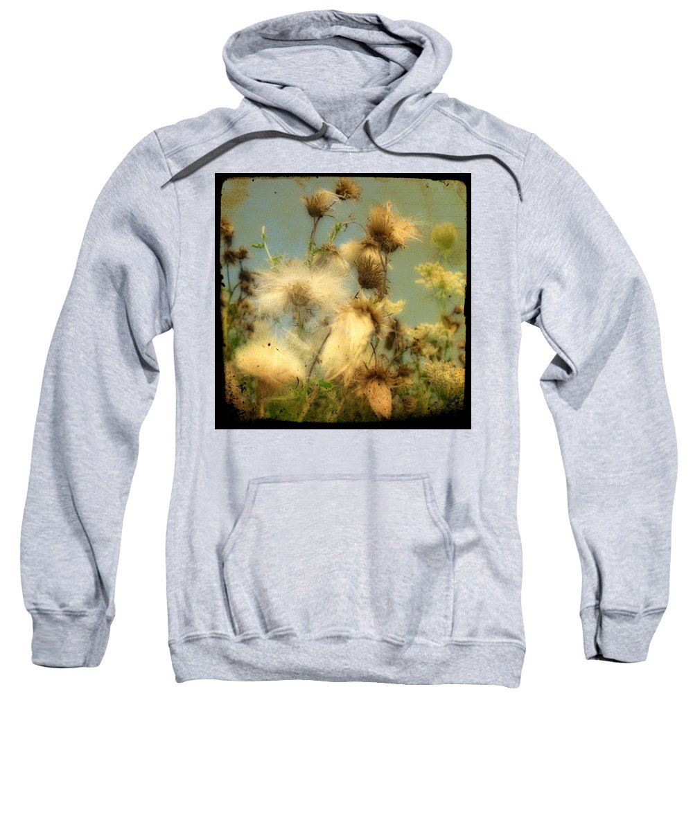 Weeds Sweatshirt featuring the photograph Urban Flowers by Gothicrow Images