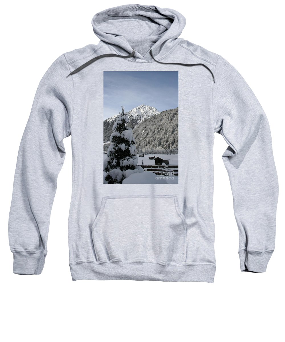 Snow Sweatshirt featuring the photograph Valley In The Snow by Christiane Schulze Art And Photography