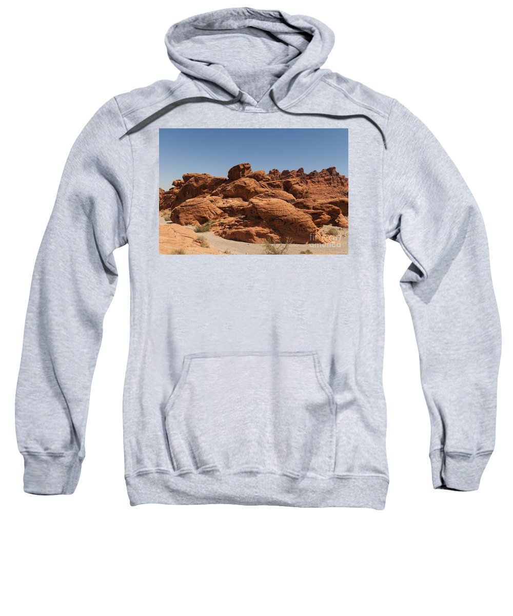 Nevada Sweatshirt featuring the photograph Valley Of Fire 1 by Nancy L Marshall